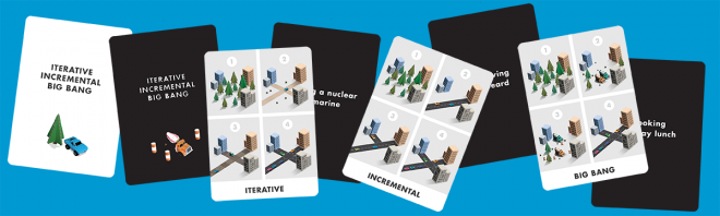 iterative incremental big bang cards